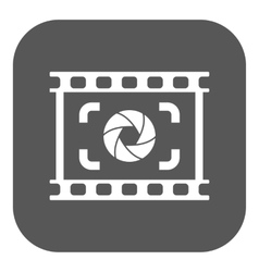 The viewfinder icon focusing and photography vector