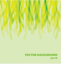 Abstract background in green shades eps10 vector image vector image
