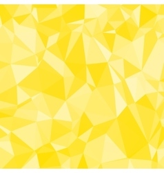 Abstract yellow triangle geometrical background vector