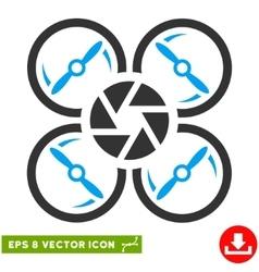 Shutter drone eps icon vector