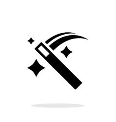 Magic wand icon vector image vector image