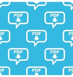 Pdf download message pattern vector
