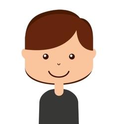 face man icon design vector image