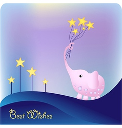 best wishes vector image