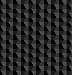 Black geometric abstract background vector