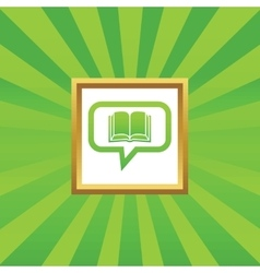 Book message picture icon vector