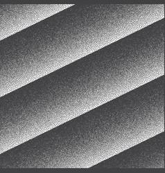 Retro style dotwork background vector