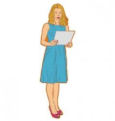 speech artistic vector image
