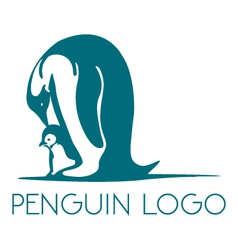 Penguin logo vector