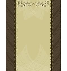 Brown antique background vector