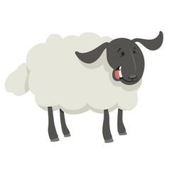 Cow farm animal character vector