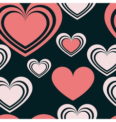 Pattern heart 2 vector