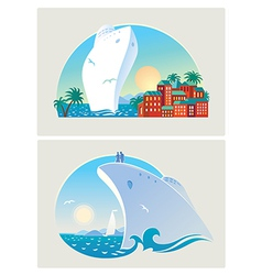 Resort liner vector