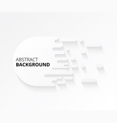 modern abstract white background design elements vector image vector image