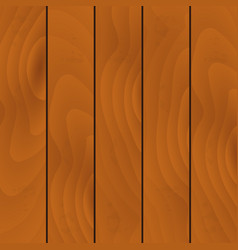 realistic light wooden texture striped set vector image