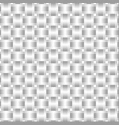 seamless pattern braided gray ribbon vector image vector image