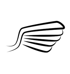 Wing stripes symbol icon graphic vector