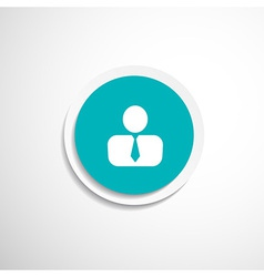 Icon man inside social people technology vector