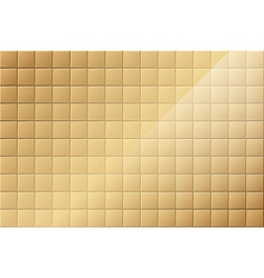 Bronze tiled background vector