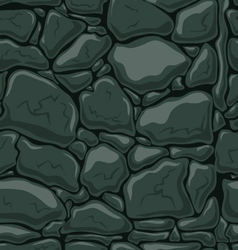 Seamless pattern with decorative stones-3 vector image