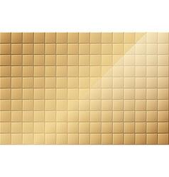 Bronze Tiled Background vector image vector image