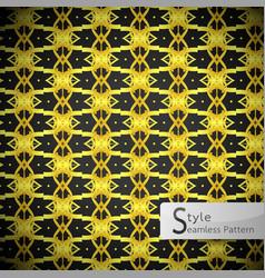 Floral lattice point gold vintage geometric vector