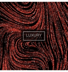 Luxury background with shiny ruby glitters vector image vector image
