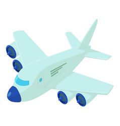Plane icon isometric style vector