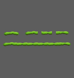 tiles grass game pack vector image vector image
