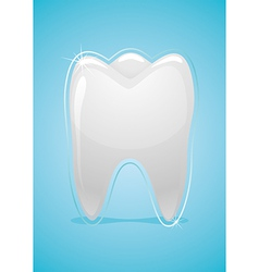 Health of teeth vector