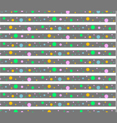 Pattern dots vector