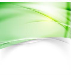 Green modern background design template vector