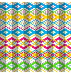 Zigzag seamless pattern vector