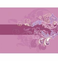 design floral elements vector image