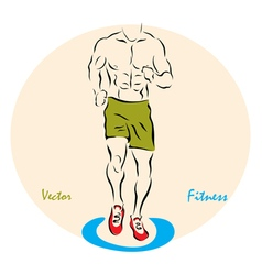 Showing a fitness vector