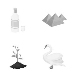 Ecology flora fauna and other web icon in vector