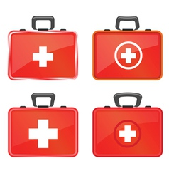 first aid vector image vector image