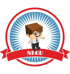 Nerd vector