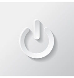 OnOff switch icon Power symbol vector image