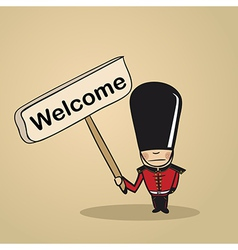 Welcome to uk people vector
