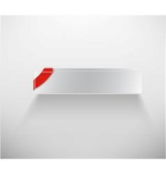 blank white box vector image