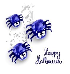 Spyders halloween vector