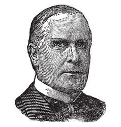 William mckinley vintage vector