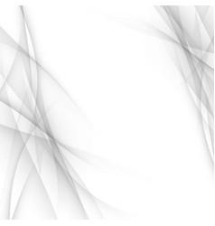 Grey line modern gradient wave certificate vector