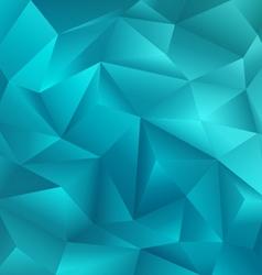 Crystal Blue Background vector image
