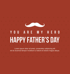 Banner style father day collection vector