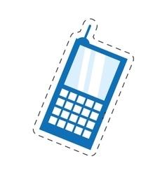 Cellphone mobile smart communication vector