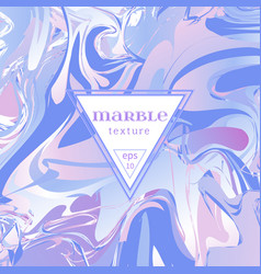 marble texture mix of lilac and pink vector image
