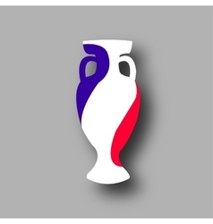 sport competition cup France participant vector image