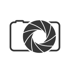 Shutter and camera icon camera design vector